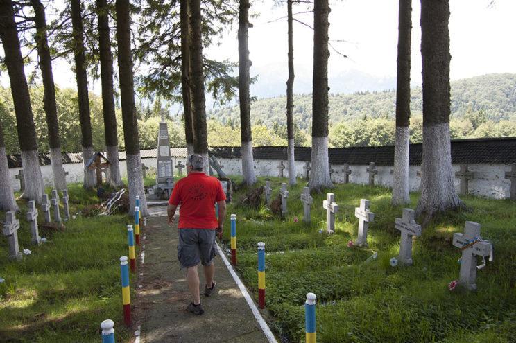 Vizită în Cimitirul Eroilor din Tabla Buții